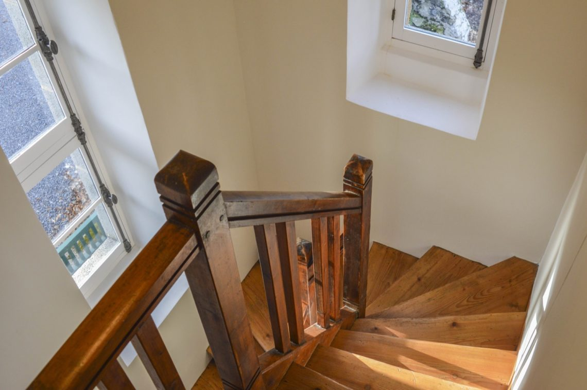 Escalier - Pavillon du garde